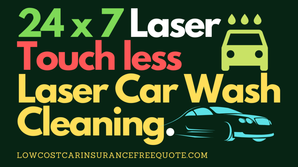 Laser Car Wash Cleaning